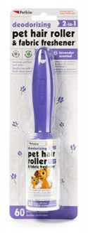 Pet Hair Roller & Fabric Freshener - 60ct Lavender