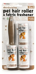 Pet Hair Roller & Fabric Freshener - 180ct Vanilla