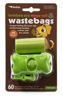 Bamboo Eco Mega-Roll WasteBags (60 bags)