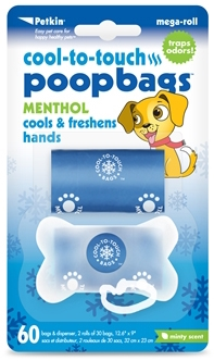 Cool-to-touch Poopbags - Minty Scent (60ct)