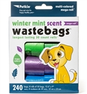 Winter Mint Scent Waste Bags (240ct)