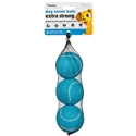 Dog Tennis Balls Extra Strong - Blue