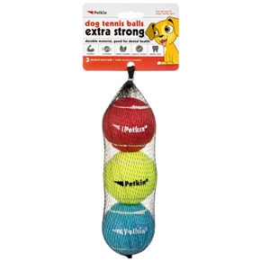 Dog Tennis Balls Extra Strong- Standard (Rainbow)