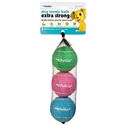 Dog Tennis Balls Extra Strong- Standard (Spring)