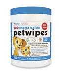 200 Mega Value PetWipes