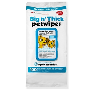 Big n' Thick Pet Wipes (100ct)