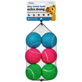 Dog Tennis Balls Extra Strong - Spring