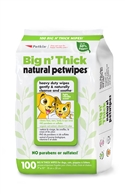 Big n' Thick Natural Pet Wipes (100ct)
