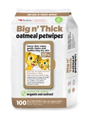 Big n' Thick Oatmeal Pet Wipes (100ct)