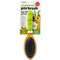 Soft-Grip Bamboo Pin Brush