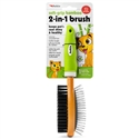 Soft-Grip Bamboo 2-in-1 Brush