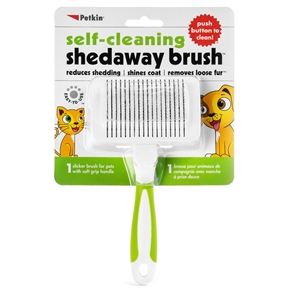 Self-Cleaning Shedaway Brush
