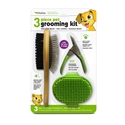 3 Piece Grooming Kit (green)