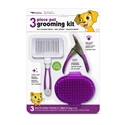 3 Piece Grooming Kit (purple)