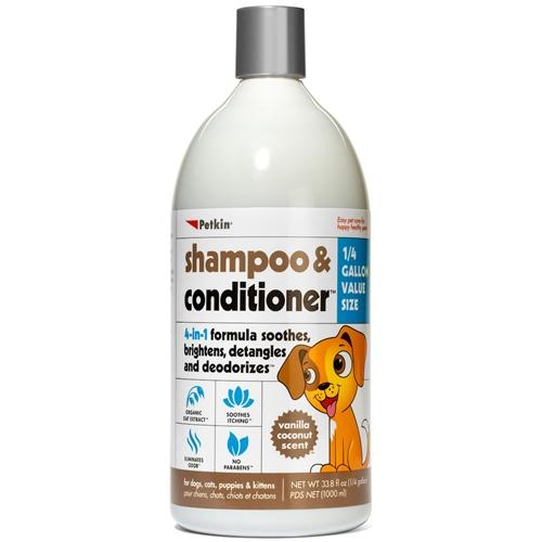 Shampoo & Conditioner - Vanilla Coconut (33 8 oz)