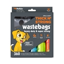 Thick n' Strong Wastebags (360ct)