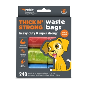 Thick n' Strong Wastebags (240ct)