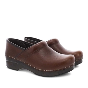Dansko Professional Tan Tumbled Pull Up