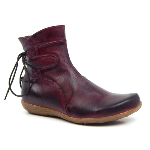 Jafa 126 Ankle Boot Plum