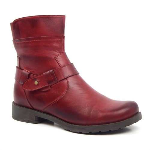 Jafa 2031 Ankle Boot Red