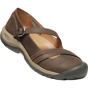 Women's Keen Presidio II Cross Strap Dark Earth