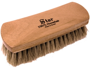 Shoe Shine Brush available at Saager's Shoe Shop