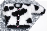 Mustachio Cow Cardigan Pattern