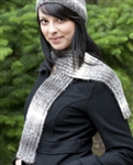 Eco Duo Magic Rib Hat and Scarf FREE Pattern