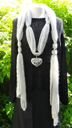 Queen of Hearts Scarf Kit