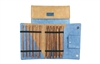 "Ginger 10"" Straight Knitting Needle Set"