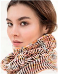 One Sided Brioche Cowl Kit