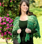 Cascade Heritage Triple Triangle Cape FREE Pattern