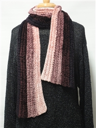 Touch Me Ribbed Scarf Pattern GY129