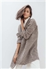 TSY AM Cashmere Fine Eyelet Wave Car Coat