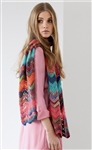 Colorissimo/Silkhair Crocheted ZigZag Scarf