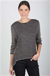 Lacy Striped Swing Pullover 5700U - Single Strand Version