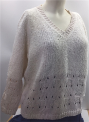 TSY Maldives & Blink Eyelet Box Pullover