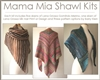 Mama Mia Mother's Day Shawl Kits
