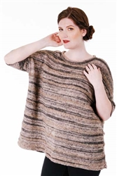6100D Tiger/Icon Wide Alt Striped Pullover
