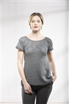 Universal Radiant Cotton Silver Blossom Tee