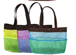 Walker Color Mesh Knitting Bag