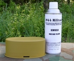 German WWII Senfgelb (Mustard Yellow) Spray Paint