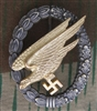 Reproduction European Made Luftwaffe Paratrooper Jump Badge