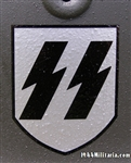 Waffen SS 1st Model Dry Transfer Runic Decal