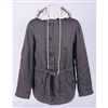 Heer Mouse Gray Parka (w/hoods) Reversible to Winter White
