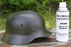 "German WWII Apple ""Pea"" Green Spray Paint For M35 Helmets"