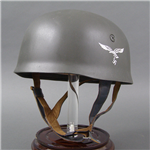 "Reproduction German WWII M38 Fallschirmjäger Helmet ET71 ""Wartime"" Issue"