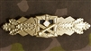 Reproduction German WWII Close Combat Clasp Gold