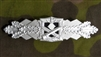 Reproduction German WWII Close Combat Clasp Silver