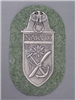 Reproduction German WWII Narvik Silver Shield For Heer (Army)